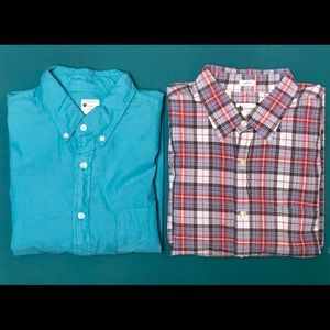 J. Crew Casual Button Down Shirts  - 2 for $20!!